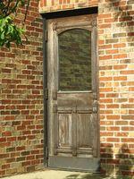 Cómo construir una jamba y la puerta de entrada de molde de ladrillo
