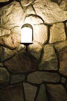 Cómo utilizar la piedra para acentuar una pared