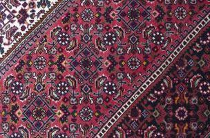 Cómo colocar una alfombra Oriental