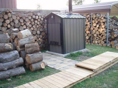 Cómo controlar el calor en un horno de madera