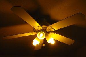 Cómo usar un ventilador de techo para reducir los costos de calefacción
