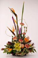 Cómo preparar un Oasis de espuma Floral para arreglos de flores frescas