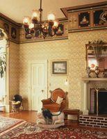 Cómo decorar una casa de estilo victoriano con antigüedades