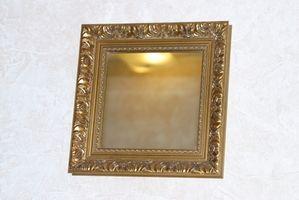 ¿Antiguo espejo verde?
