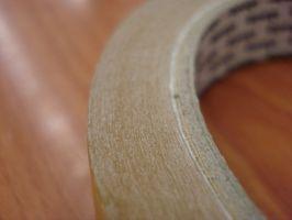 Quitar pegamento de cinta
