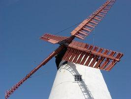 Cómo reconstruir los molinos de viento con baterías