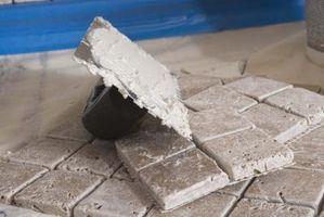 Paletas utilizadas por cortadoras de azulejo