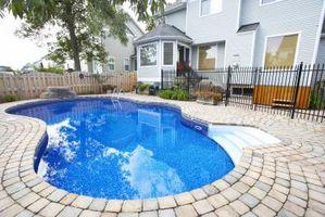 El mantenimiento de la valla de piscina galvanizada