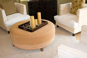 Cómo organizar los muebles en una sala de estar de forma irregular