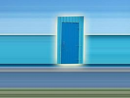 Feng Shui puerta colores
