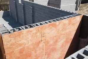 Cómo hacer una cabaña de un dormitorio de bloques de cemento