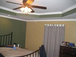 Cómo decorar una habitación con un techo de Octagon