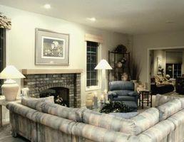 Cómo separar un sofá seccional y utilizarlo para arreglar una habitación