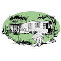 Cómo aislar el vientre de una casa móvil