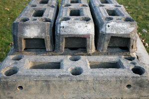 Cómo utilizar bloques de hormigón para composteros
