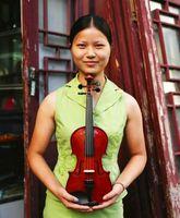Cómo decorar una habitación para un violinista