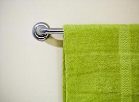 Buena maneras de mostrar tus toallas de baño
