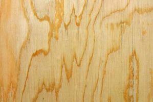Cómo ocultar las costuras en madera contrachapada
