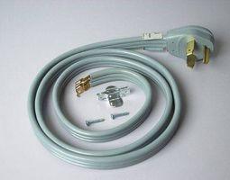 Cómo instalar un cable de secador