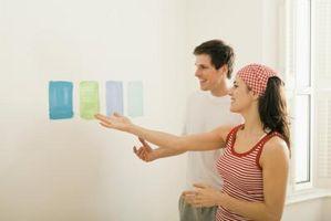 Ideas para usar la cinta para hacer diseños al pintar las paredes