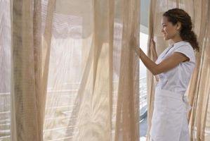 Cómo medir ventanas para visillos