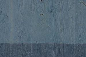 Las formas de la pintura dos tonos en su sala de estar