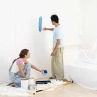 Cómo hacer bordes rectos en la pintura de la pared