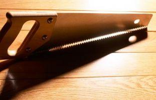 Herramientas utilizadas para cortar el conducto