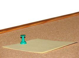 Tela Tackboard vs corcho Tackboard