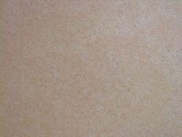 ¿Cómo se fabrica madera MDF?