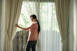 Pinch pliegue cortina instrucciones