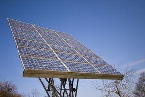 Formas sencillas de hacer un funcionamiento Panel Solar