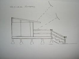 Cómo construir un cobertizo Solar / oficina estudio