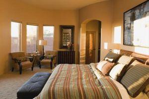 Ideas de decoración para un dormitorio y sala de estar