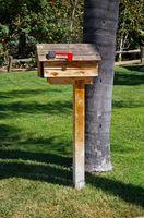 Cómo eliminar un correo caja del poste que está en el suelo