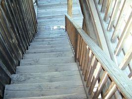 Instrucciones para el acabado de una escalera