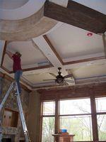 Cómo pintar techos altos