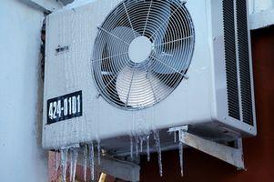 Procedimientos para introducir aire acondicionado Freon 22