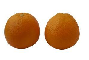 Hongo que crece en naranjas