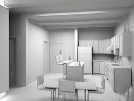¿Qué colores de azulejo de piso buscar mejores con muebles blancos?