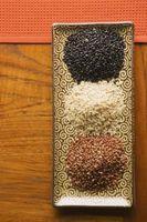 Cómo las plantas de arroz maleza