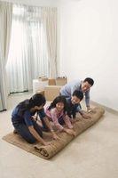 ¿Qué lo pones debajo de una alfombra para mantenerlo de correderas?