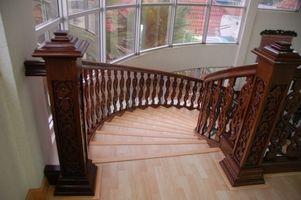 ¿Qué tipo de suelo puede ser utilizado en escaleras?