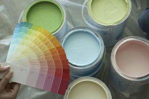 BRICOLAJE Pintura opaca de Color sobre madera