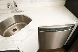 Como resetear el Panel de Control en un lavavajillas Sears