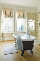 ¿Lo que están hechos de bañeras modernas?