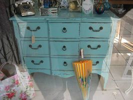 Ideas para pintar muebles de madera