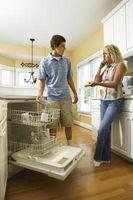 ¿Lo que rompe los depósitos de calcio en el lavavajillas?
