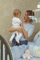 Manualidades caseras para la habitación de un bebé