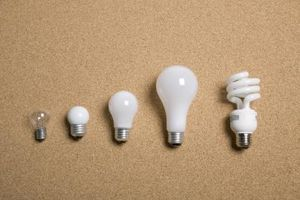 Cómo hacer silicona luces bombillas